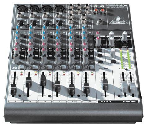 Mixer Xenyx 1204 Usb behringer xenyx 1204 usb mixer getinthemix