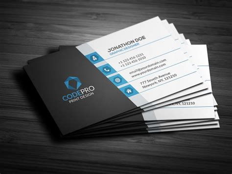 modern busines card templates creative modern business card business card templates