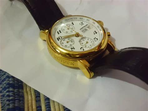 Jam Tangan Montblanc Chrono wismasarjana jam tangan montblanc chronograph gold jv 285