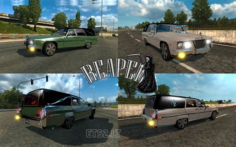 Saints Row 3 Auto Tuning by Auto Reaper In Traffic Ets 2 Mods