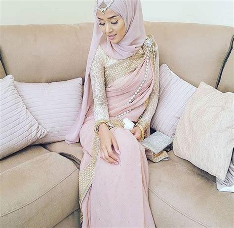 Blouse Bunga Ab 01 hijabi juga boleh gayakan saree cuba ikut 8 cara ini