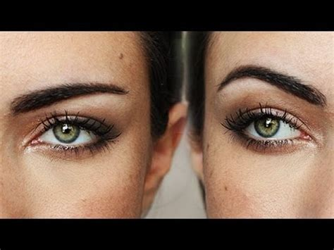 how to change your look how to change the shape of your eyebrows