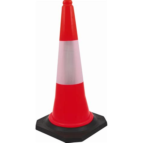 bunnings whites on site 750mm flexible traffic cone