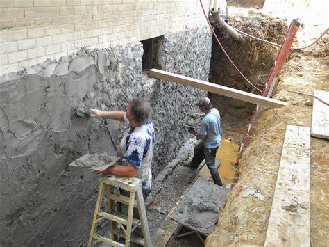 waterproofing stone basement walls projects