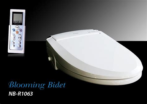 Blooming Bidet blooming bidet r1063 w remote electronic toilet seat led light new decorate with