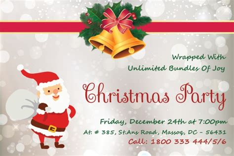 christmas design invitation card free psd christmas invitation card designs freecreatives