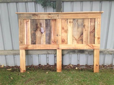 headboard from pallets pallet king size bed with headboard