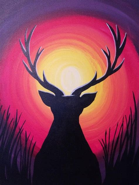 paint nite 21 17 b 228 sta id 233 er om deer paintings p 229