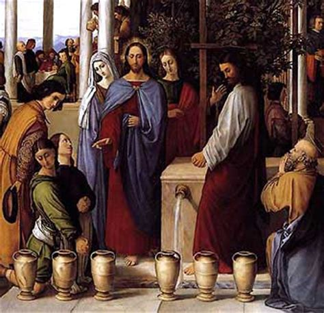 Wedding At Cana Symbolism by Waiting For Godot To Leave 50 Days Of Prayer Day 17