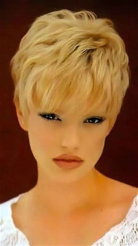 extra short hairstyles for fine hair 294 best hairstyles for fine thin hair images on pinterest