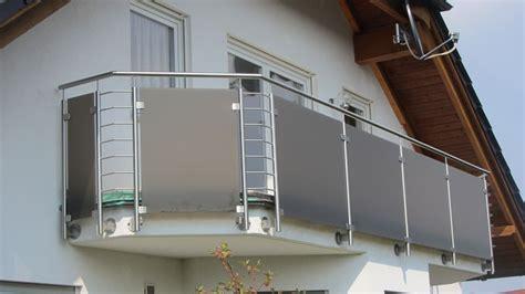 edelstahl balkongeländer mit glas edelstahl naturstein design berlin sch 246 nefeld