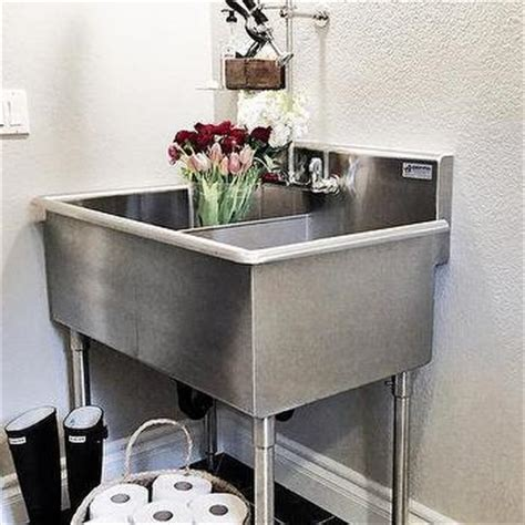 Stainless Steel Laundry Room Sink Stainless Steel Laundry Sink Design Ideas