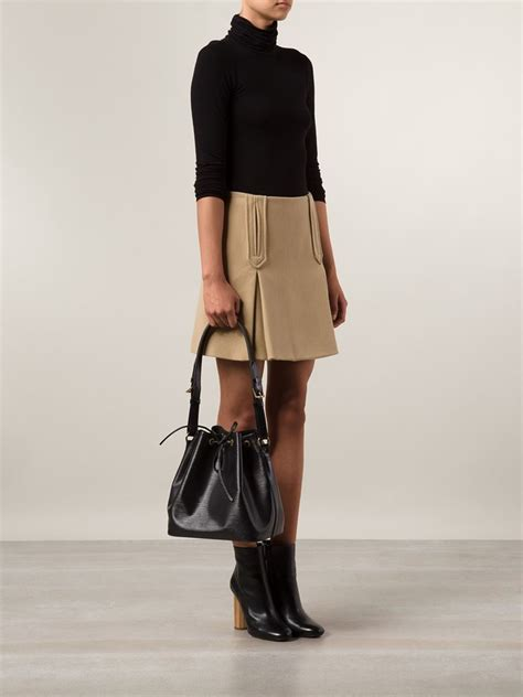 Christian Noe Luxury Black Hardware Set 3 In 1 16927 lyst louis vuitton small noe shoulder bag in black