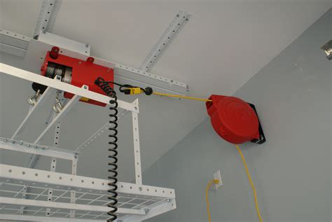 Garage Lift System by Motorized Lift System Motor And Power Supply The Garage