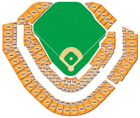 comerica park section map comerica park seating sections bing images