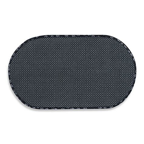 bowl mat the original black pet bowl mats www bedbathandbeyond