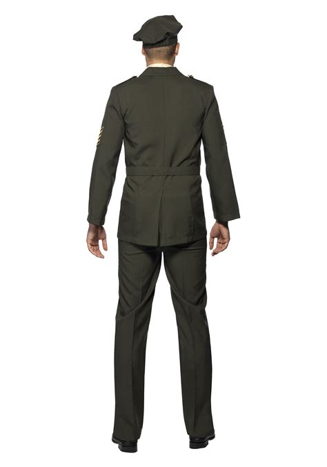 Officer Costume by Mens Wartime Officer Costume
