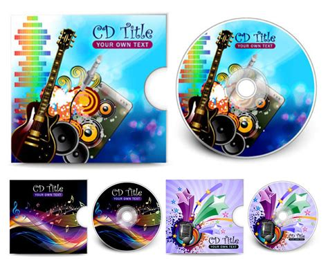 cd design templates vector graphics all free vectors and illustrations