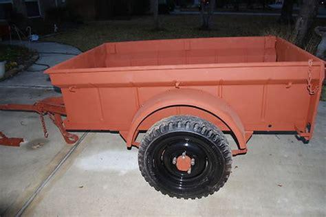 bantam jeep trailer bantam jeep trailers