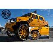SEMA 2014  Hummer On 34 Inch Forgiato Wheels YouTube