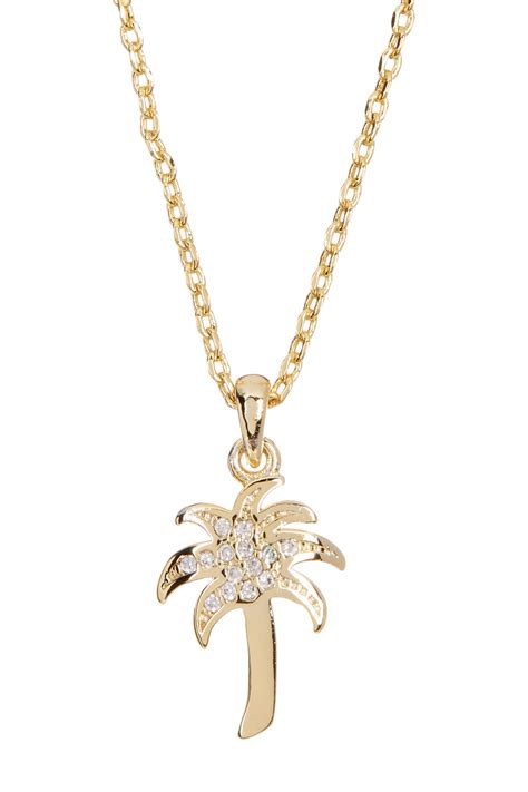 Exclusive Deal 20 At Givingtreejewelrycom by Lucky Brand Palm Tree Necklace Nordstrom Rack