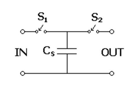switched capacitor filter wiki schaltschema eines sc widerstandes