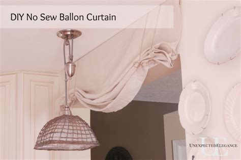 how to make balloon curtains at home diy no sew balloon curtain tutorial