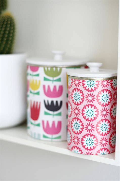 upcycle cans diy upcycled tins with lids by wilma