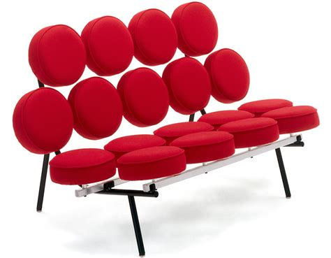 Marshmallow Chair George Nelson Marshmallow Sofa Hivemodern Com