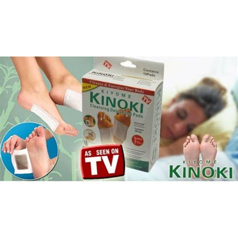 Detox Foot Pads In Stores by Kinoki Cleansing Detox Foot Pads Cleanse And Energize