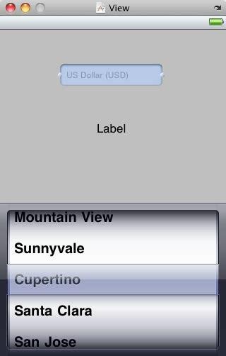 xcode picker tutorial xcode iphone scroll wheel picker for menus stack overflow