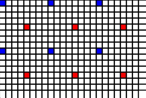 drum pattern algorithms algorithm to place x items equidistantly on an n by m w