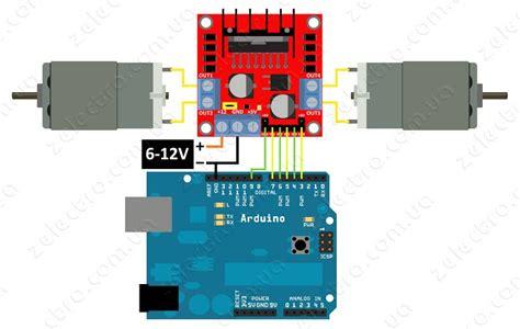 motor driver arduino l298 dual motor driver module 2a future electronics
