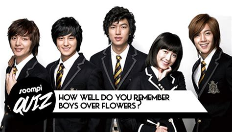 bts quiz soompi quiz how well do you remember quot boys over flowers quot soompi