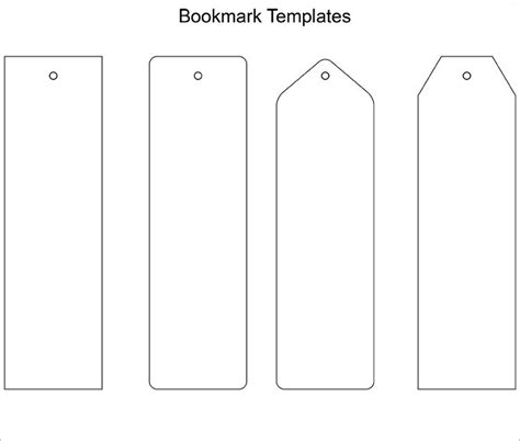 The 25 Best Bookmark Template Ideas On Pinterest Coloring Bookmark Bookmark Making And Kids Avery Bookmark Template