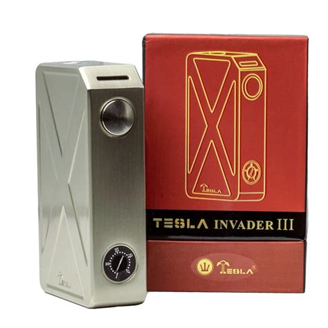 Tesla Invader Iii Promo Sale tesla invader iii 240w box mod e cigarette powered by 18650 batteries