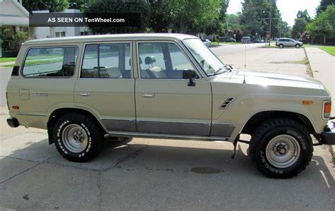 1986 Toyota Land Cruiser 1986 Toyota Land Cruiser Fj60