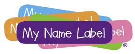 Namensschilder Aufkleber Schule by Name Labels Iron On Clothing Labels Labels For School