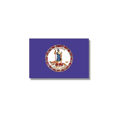 virginia state colors virginia state flag