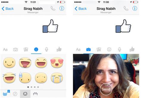 messenger bonita nuevo facebook messenger 5 0 la vida cerca del selfie es