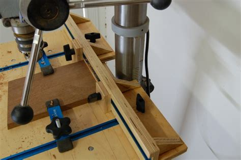 pdf plans woodworking drill press table diy