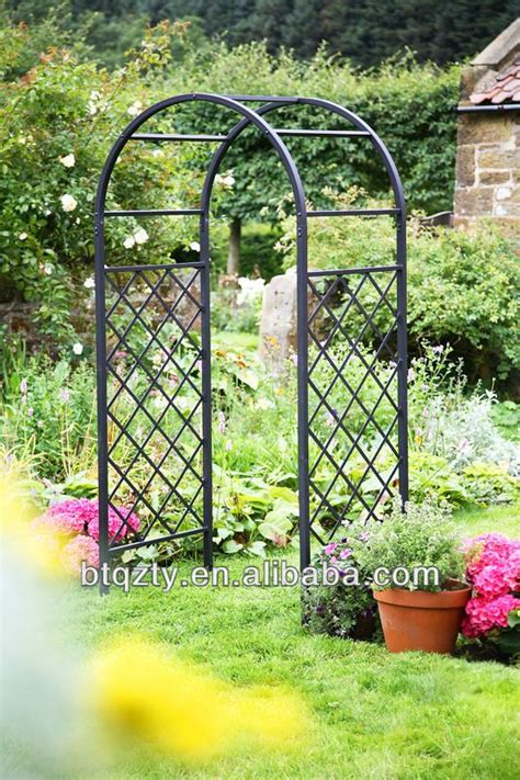 Wrought Iron Garden Arch Wrought Iron Pergola Pavilion Metal Garden Arches And Pergolas
