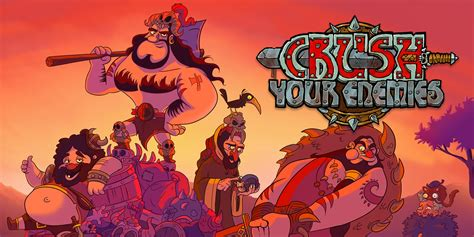 crush  enemies nintendo switch  software