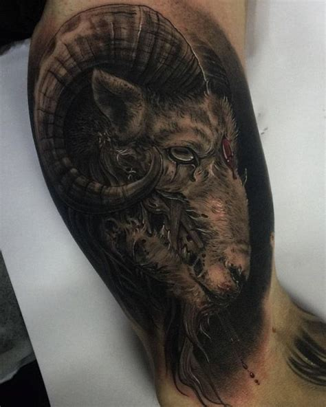 sacrifice tattoo designs 39 best aries tattoos images on antlers aries