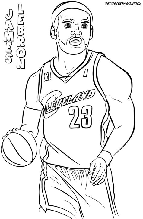 lebron james coloring pages coloring pages to download