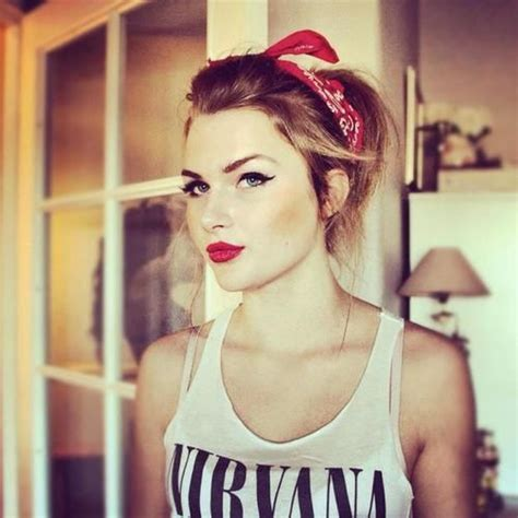 Modern Pin Up Hairstyles by Modern Pin Up Look Makeup Hair Hair