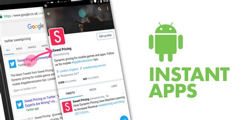 instant app for android phone could android instant apps replace the mobile web