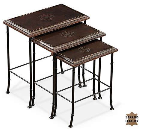 Traditional Coffee Tables And End Tables Nesting Tables Traditional Side Tables And End Tables By Sarreid Ltd