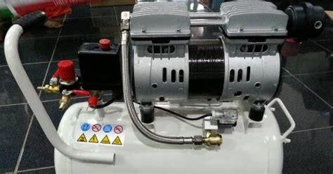Mesin Kompresor Angin Silent Oilless Lakoni Fresco 110 1hp andre teknik jakarta kompressor oiless rumah sakit klinik murah