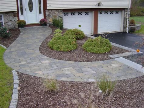 curved sidewalk in front of side entry garage love it 114 best accessible sidewalks rs entrances images on